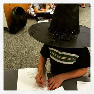 Sorting hat #harrypotter #librarian #library